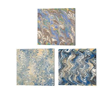 Florentine Set (Metaverse Unknown 'Florentine' Canvas Art (Set of 3))