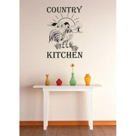 do it yourself wall decal sticker country kitchen mural