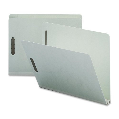 Sparco Products Pressboard Fastener Folder, 25 Pt, 2 Exp, Letter, 25/BX