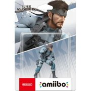 Solid Snake Amiibo - Super Smash Bros. Series [Nintendo Switch Wii U 3DS NES]