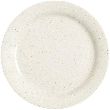 English Ironstone Tableware - Santa Fe Ironstone 7.25 inch Round Plate Melamine/Case of 24