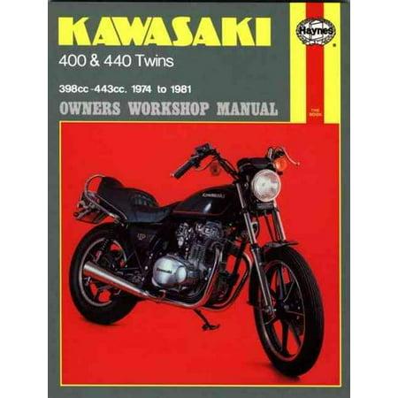 Kawasaki Kz400 and 440 Twins Owners Workshop Manual, No. 281: '74-'81