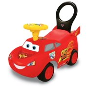 Kiddieland Disney Pixar Cars Lightning McQueen Activity Ride-On Push Car Racer