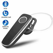 Bluetooth Headset, LUXMO Wireless Bluetooth 5.0 Earpice for Cellphone, In ear Bluetooth Earphone Hands Free Earbuds With Noise Cancelling Mic for iPhone Android All Smart Cell Phone