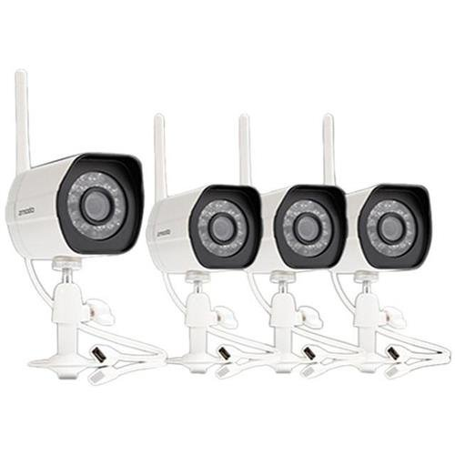 Zmodo ZM-W0002-4 720P HD Wireless Bullet IP Camera with Night Vision