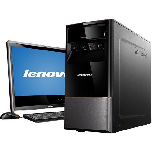 Lenovo H415 30991TU Desktop PC with AMD A8-3850 Processor, 8GB Memory, 1TB Hard Drive and Windows 7 Home Premium (Monitor Not Included)