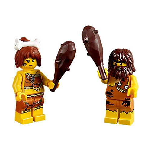 Small - PICK YOUR COLOR !! Minifig Weapon Club LEGO Caveman