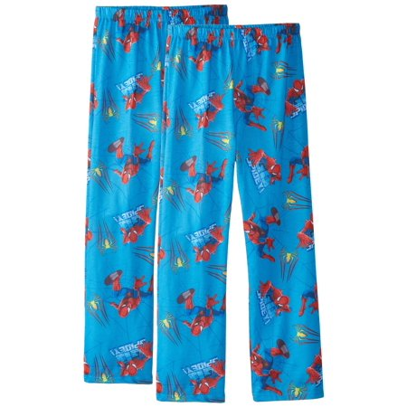 Spider-Man Boys Blue Pajama Pants, Sizes 4-10, 2 Pack, Size: Small / - Cute Teen Pajamas