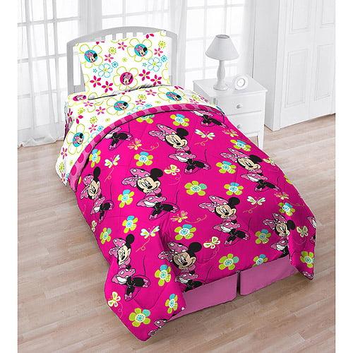 Minnie 4pc Bed Set With Bonus Tote