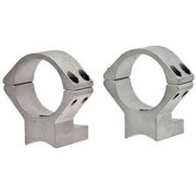 Talley S94X725 1-Piece Med Base and Extension Ring Sav Mod 12 Accu Trigger, Silver