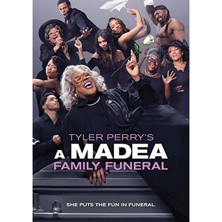 A Madea Family Funeral (DVD) - Boo A Madea Halloween Movie Cast