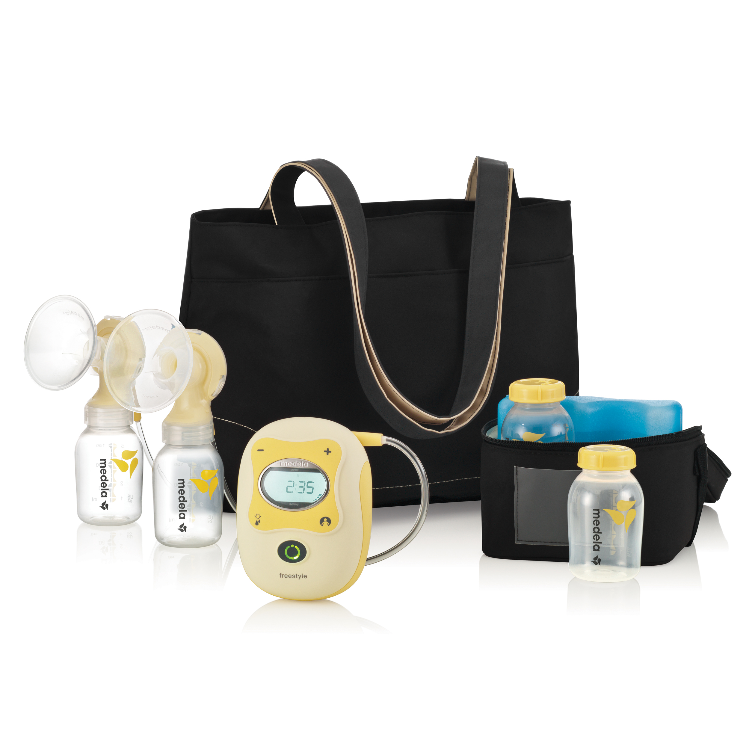 Medela Freestyle Mobile Double Electric Breast Pump Walmart Com