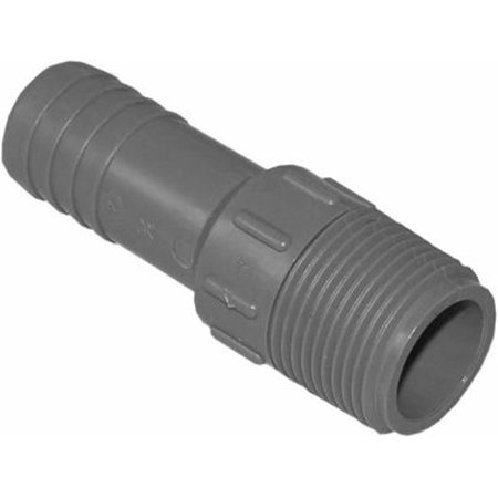 350407 0.75 in. Poly Male Pipe Thread Insert Adapter, Pack of 10