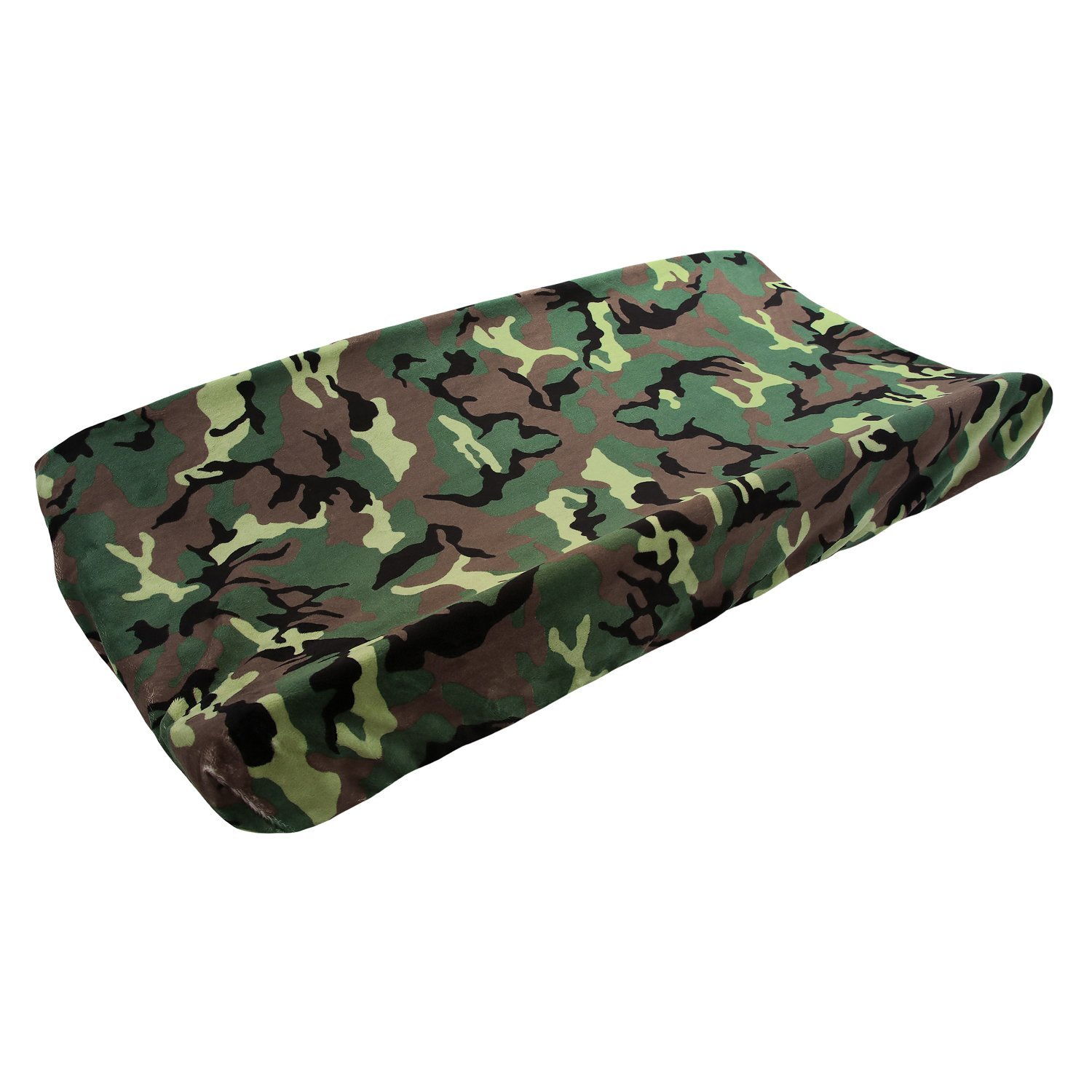 My Blankee Camouflage Minky Changing Pad Cover, Army, 16'...