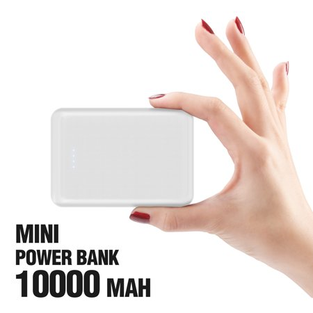 Portable Charger 10000mAh Cell Phone Power Bank External Battery Backup Pack Compatible with iPhone X XS Max XR 8 7 6 Plus Android Galaxy Note (Best Battery For Android Mobile)