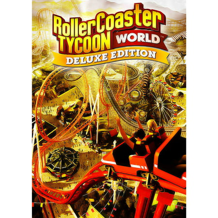 RollerCoaster Tycoon World Deluxe Edition, Atari, PC, [Digital (Atari Roller Coaster Tycoon 3)