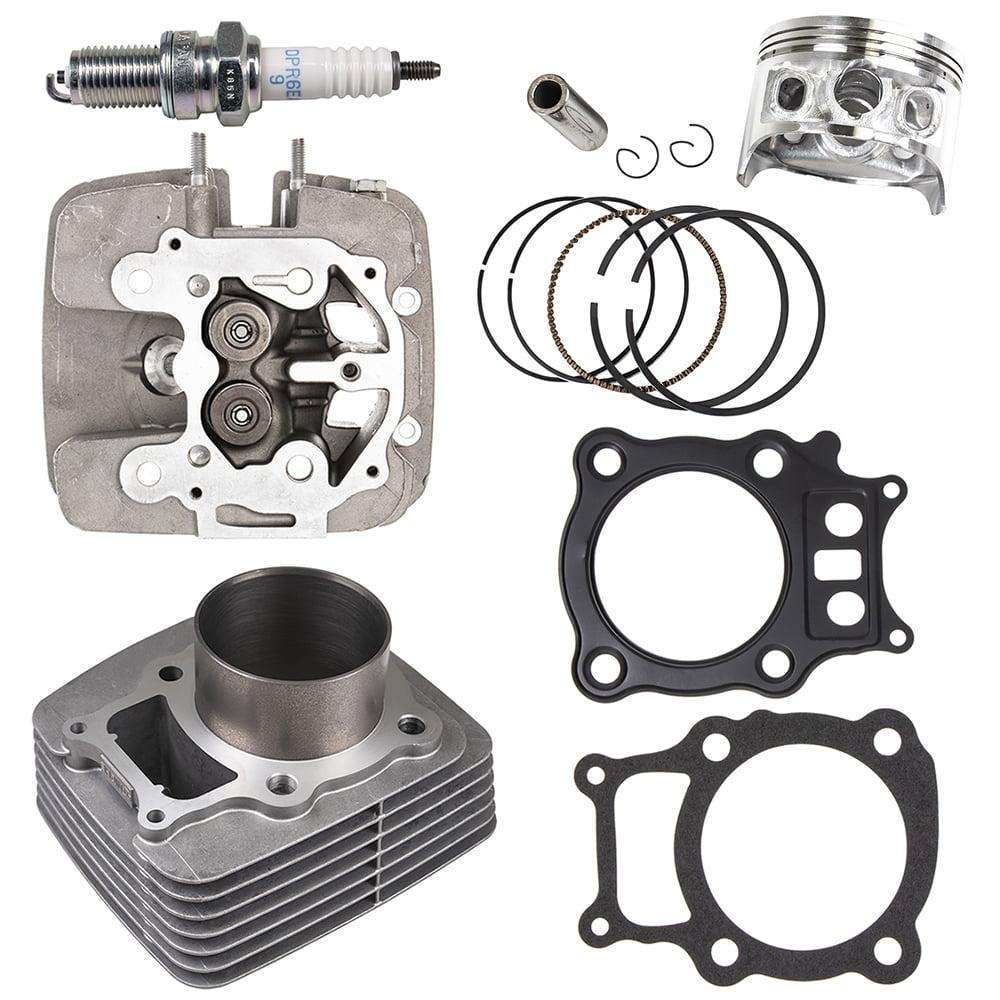 Cylinder Piston Gasket Top End Rebuild Kit for Honda Rancher TRX350 2000-2006
