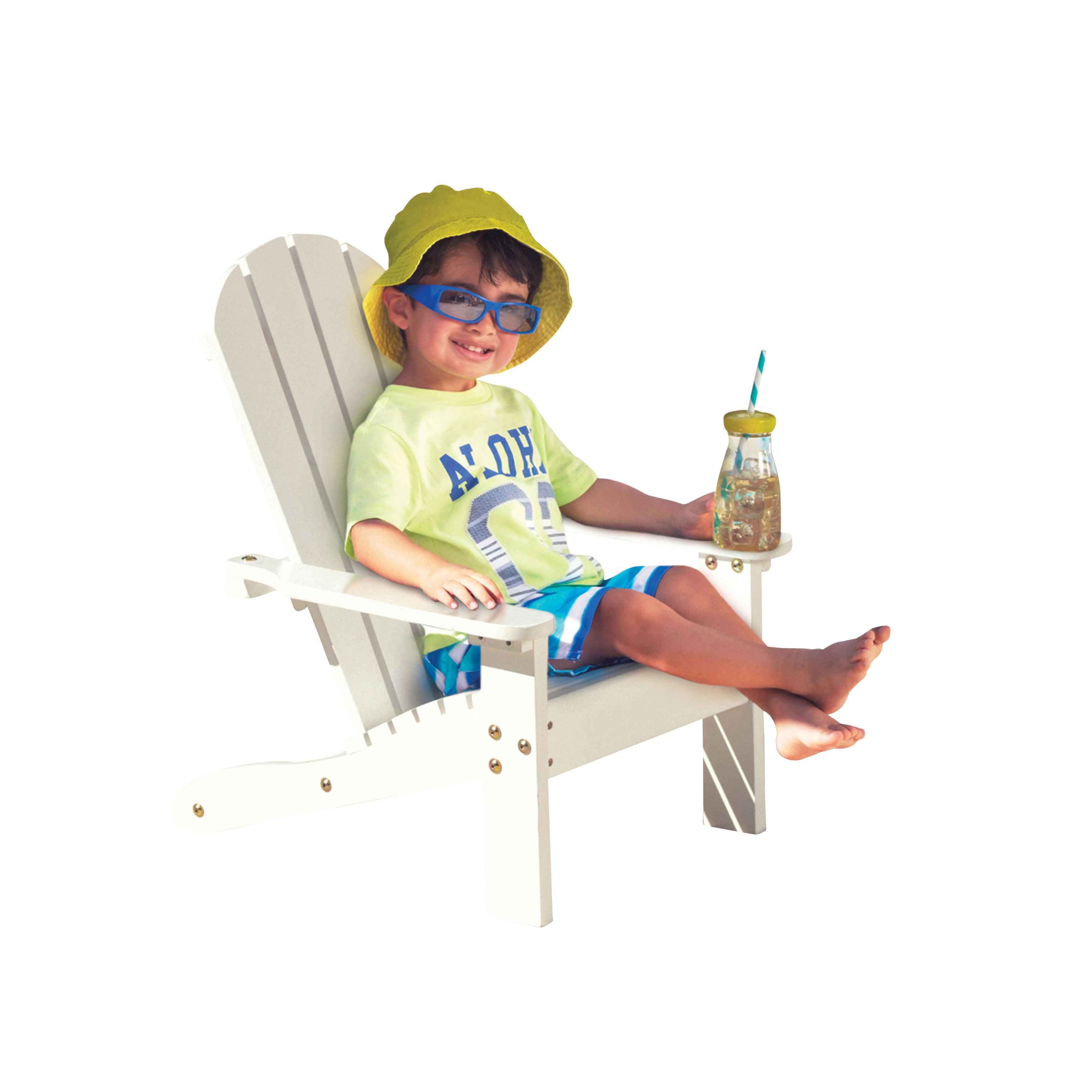 KidKraft Adirondack Chair White by KidKraft