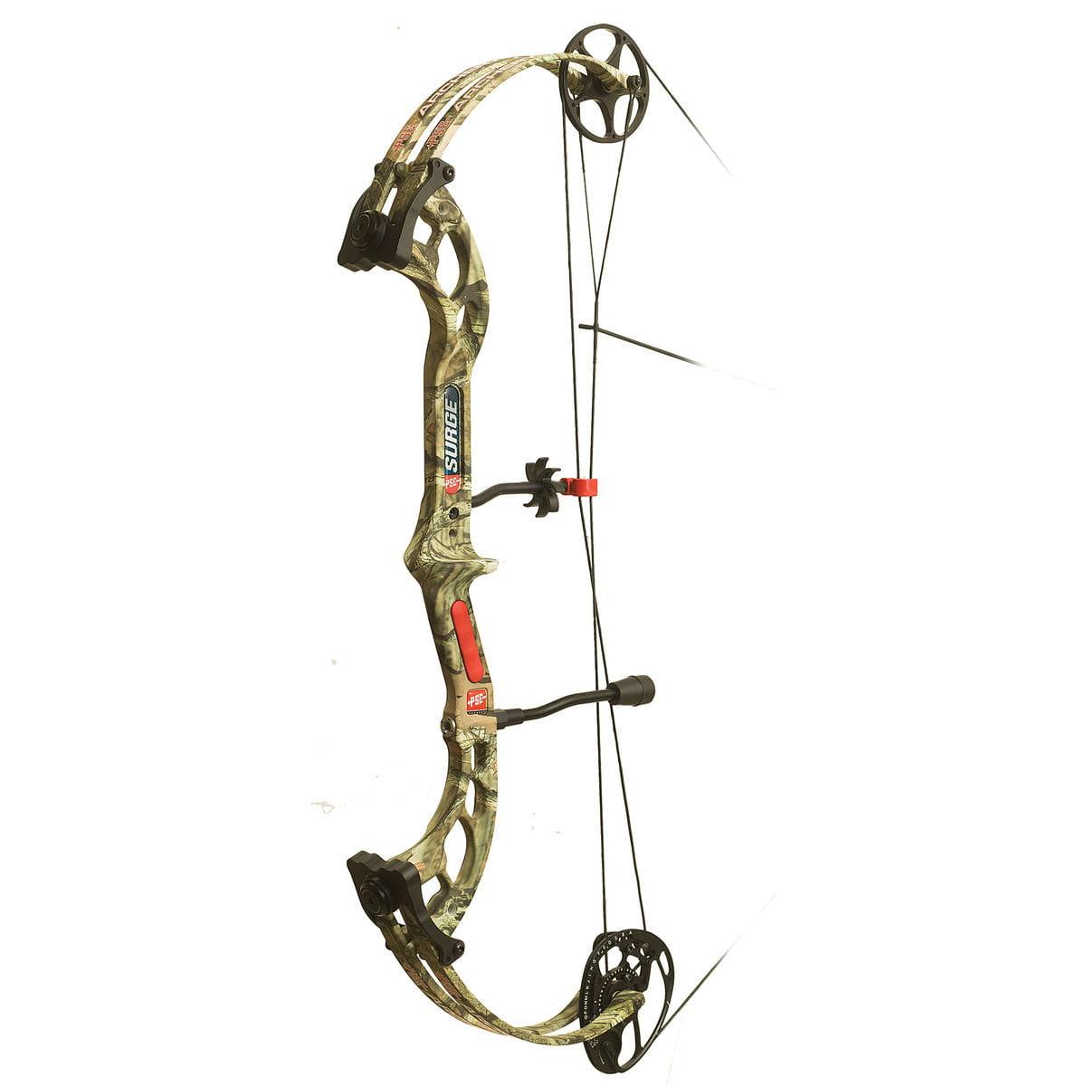 PSE Surge Camo 50# RH Right Hand Compound Archery Bow Mos...