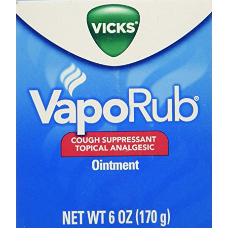 6 oz Vicks VapoRub Vapo Rub Chest Rub Jar Cough Suppressant