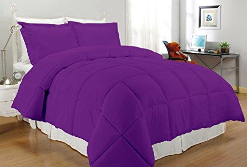 South Bay Down Alternative Comforter King Purple Walmart Canada
