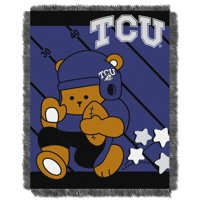 """TCU Horned Frogs The Northwest Company College Full Back 36"""" x 46"""" Woven Baby Blanket - No Size"""