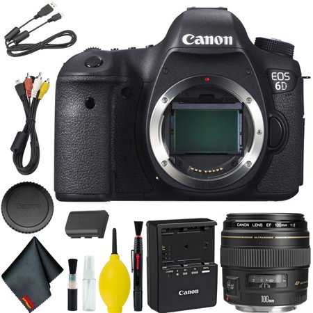 Canon EOS 6D DSLR Camera Base Bundle - Walmart com