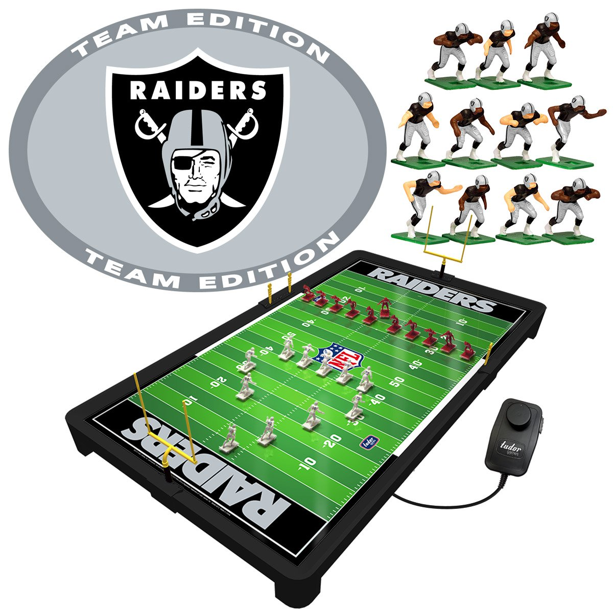 Oakland Raiders NFL Electric Football Game