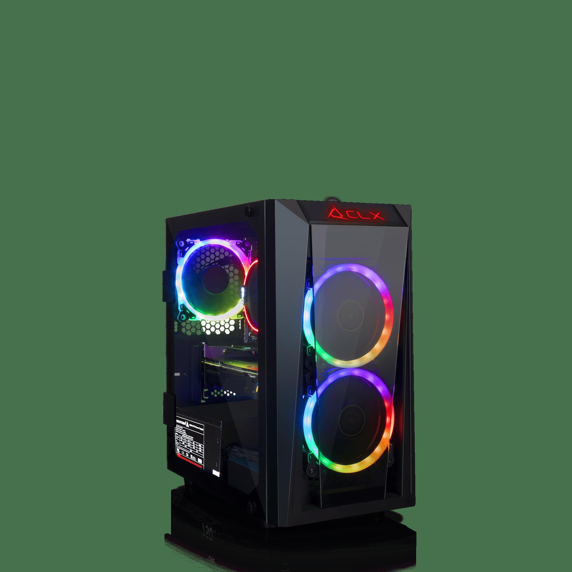 CLX SET GAMING AMD Ryzen 5 2600 3.4GHz, NVIDIA GeForce GTX 1660 6GB, 16GB Mem, 120 SSD + 1TB HDD