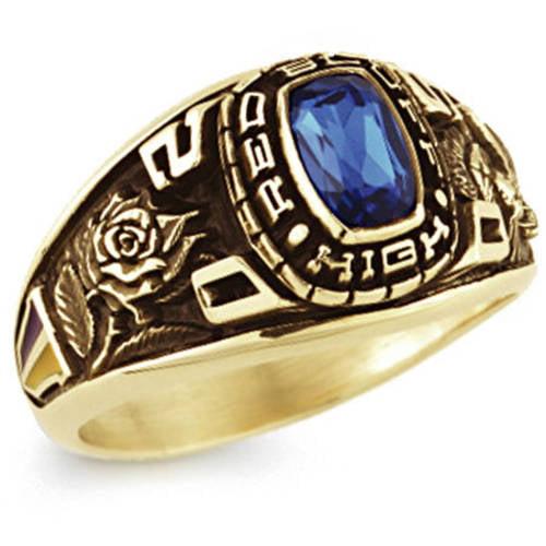 Keepsake Girl's Classic Square Class Ring