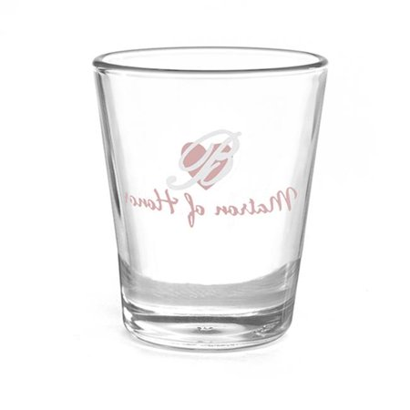 Hortense B Hewitt 38827P Personalized Matron of Honor Heart Wedding Party Shot Glass