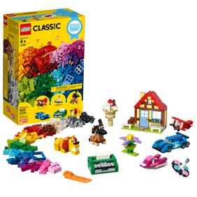 Lego Clic Creative Fun 11005 Building Kit 900 Pieces