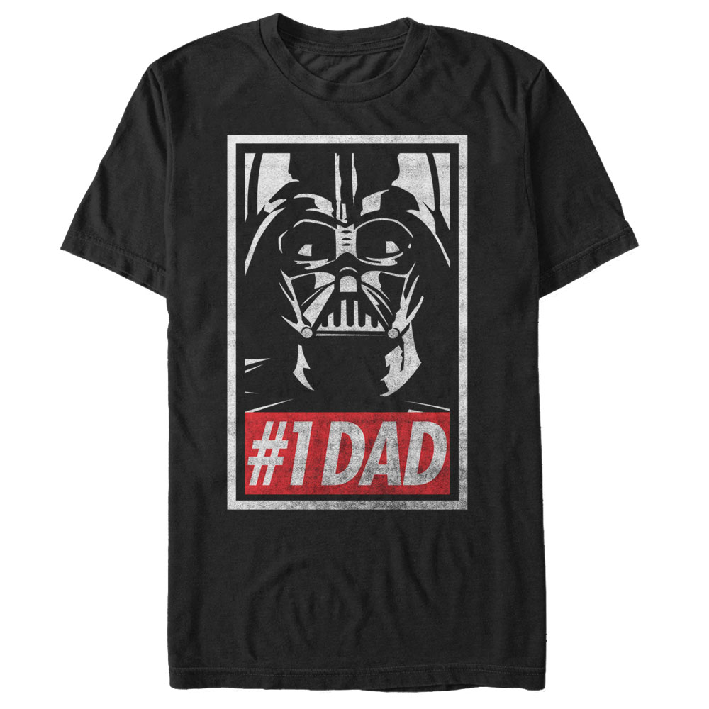 ba5460709d59b Star Wars Men s Darth Vader Number One Dad T-Shirt