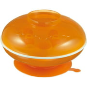 Simba Warmer Bowl and Cutlery Set, Orange