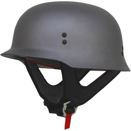 AFX FX-88 Half Helmet Frost (Afx Helmet Chin Vent)