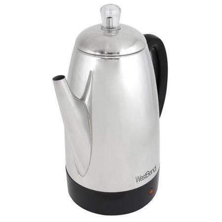 West Bend 54159 12-Cup Stainless Steel Percolator