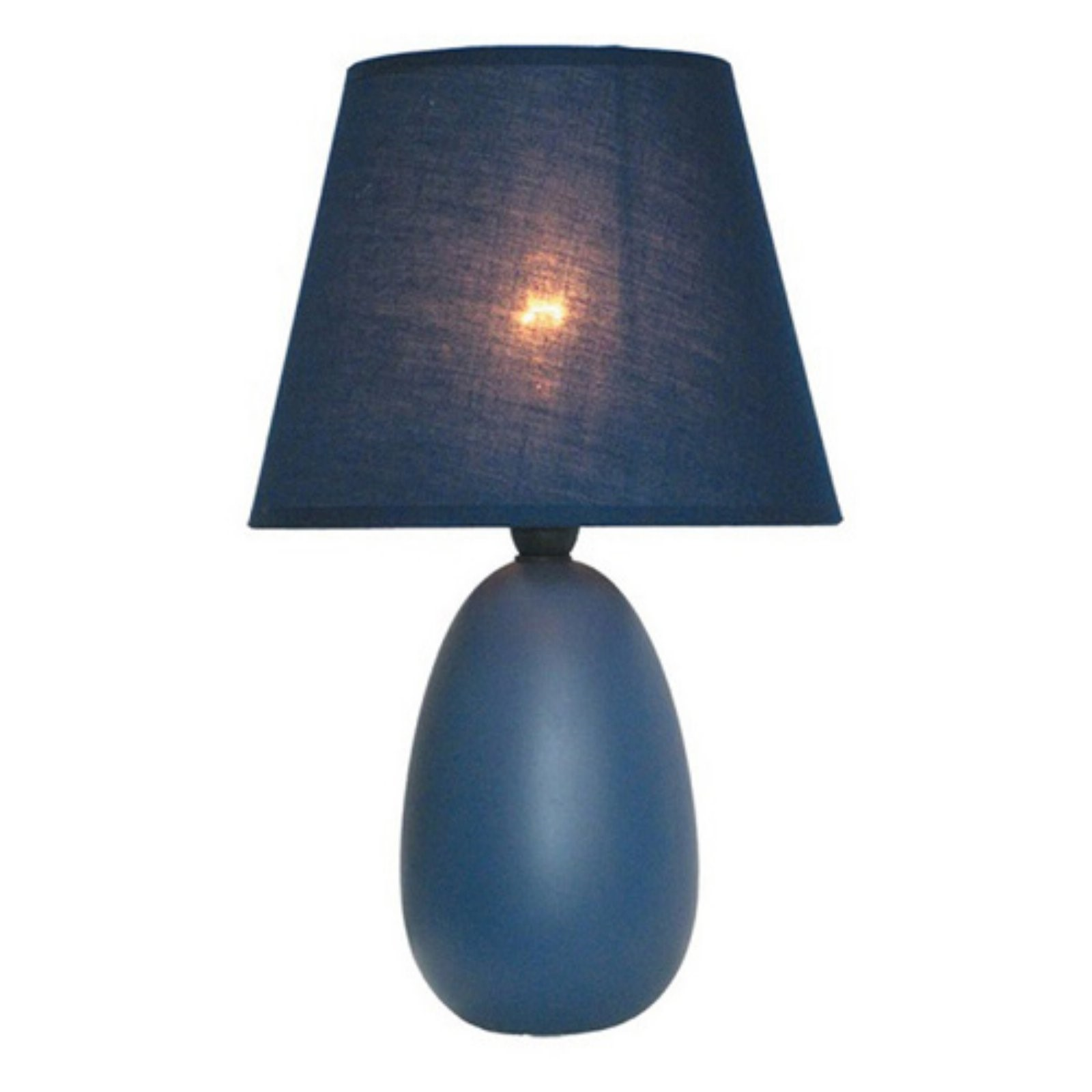 Simple Designs Table Lamp   9.5H In.   Blue