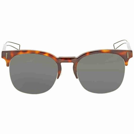 ffd6286a560b0 Dior - Dior Homme Black Mirror Square Sunglasses BLACK TIE 207 S ...