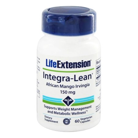 Life Extension - Integra-Lean Irvingia Gabonensis African Mango 150 mg. - 60 Vegetarian