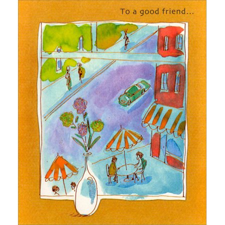Freedom Greetings City Café Friendship - Card And Party City