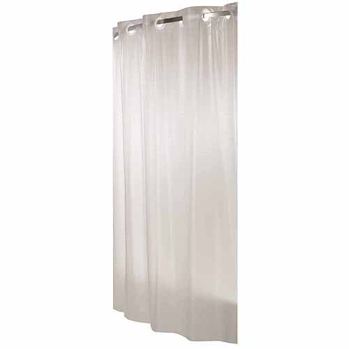 Hookless Frosty PEVA Shower Curtain by Focus Electrics