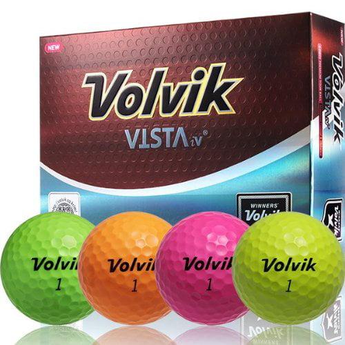 Volvik Vista iV Golf Balls (1 Dozen)