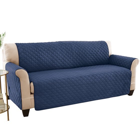 Reversible Spill Resistant Furniture Protector Cover Sofa