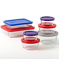 Deals on Pyrex Simply Store Glass Bakeware Set 14 Piece