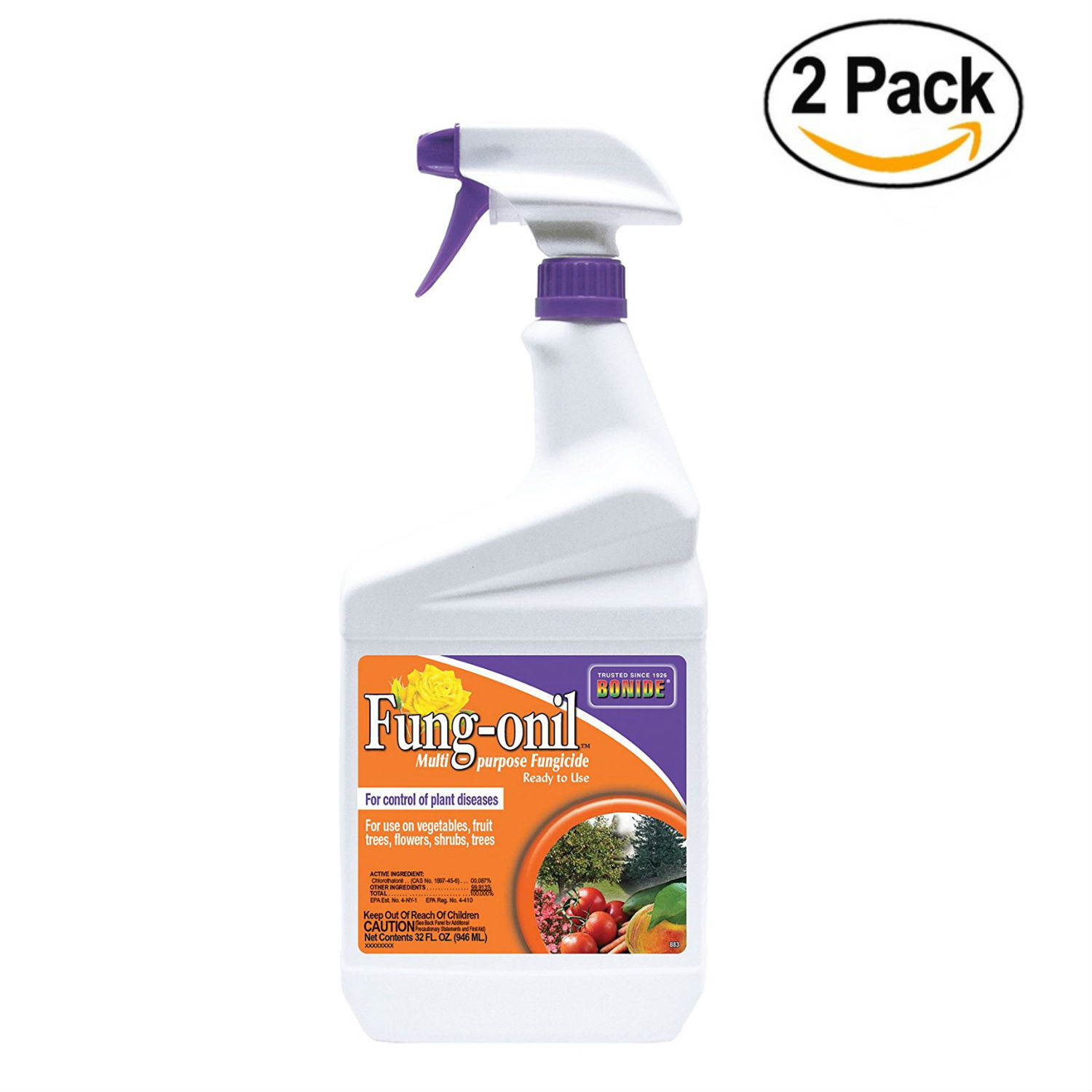 Bonide Products 883 Ready-to-Use Fungicide, 32-Ounce - Pack Of 2