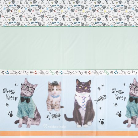 Rachael Hale Cats Rule Tablecover (1) - Rules For Halloween For Kids