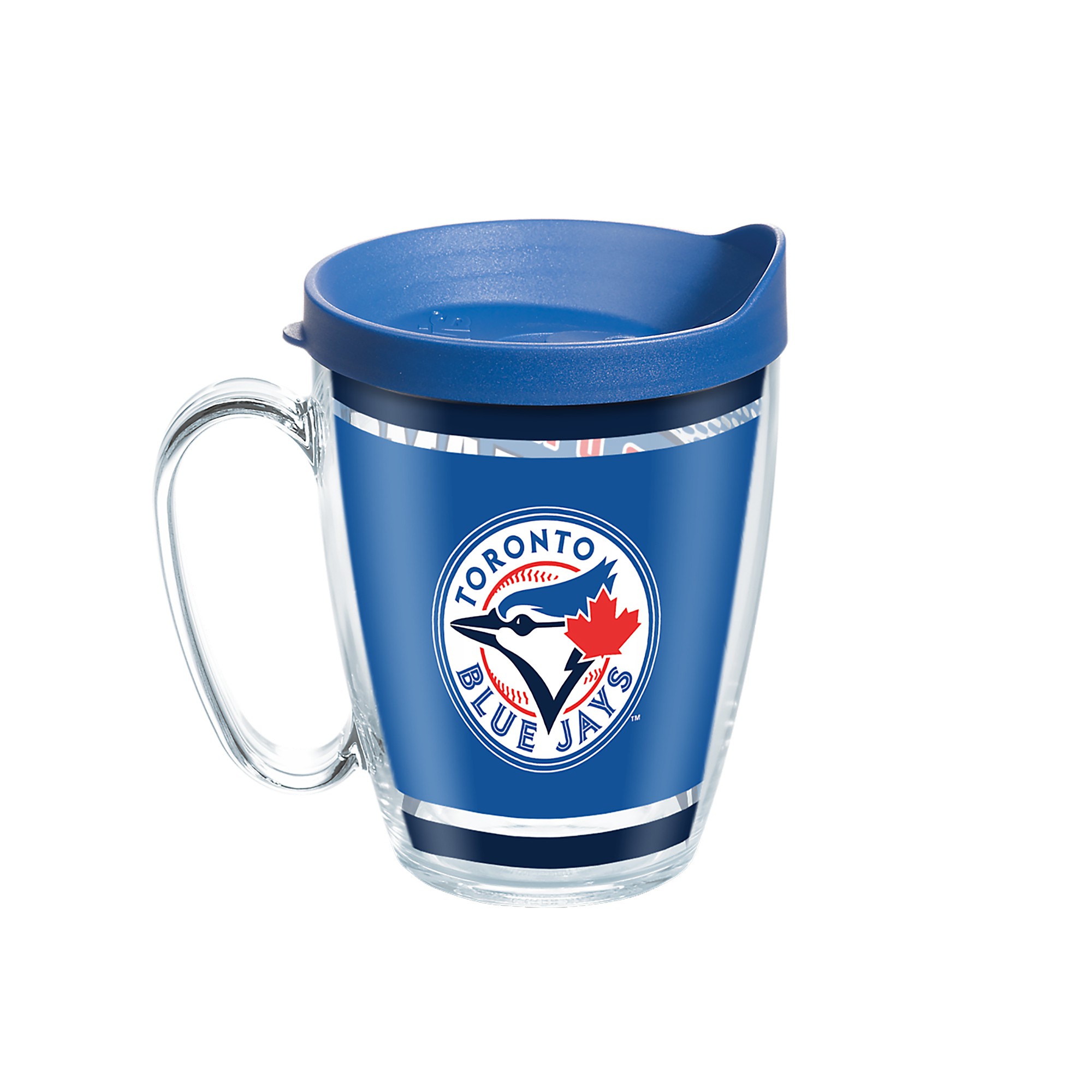 MLB Toronto Blue Jays Legend 16 oz Coffee Mug with lid