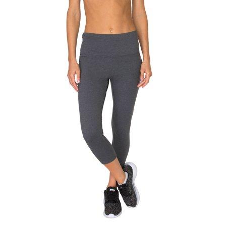 - RBX Active Women's  Cotton Span Tummy Control Capri