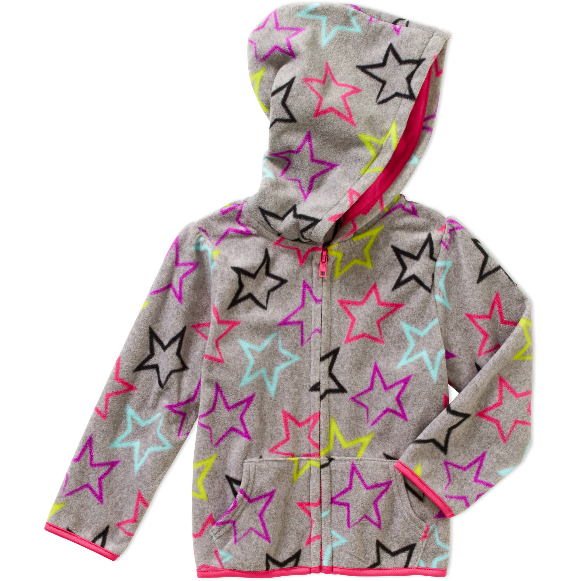 Garanimals Baby Toddler Girl Printed Fleece Hoodie Jacket