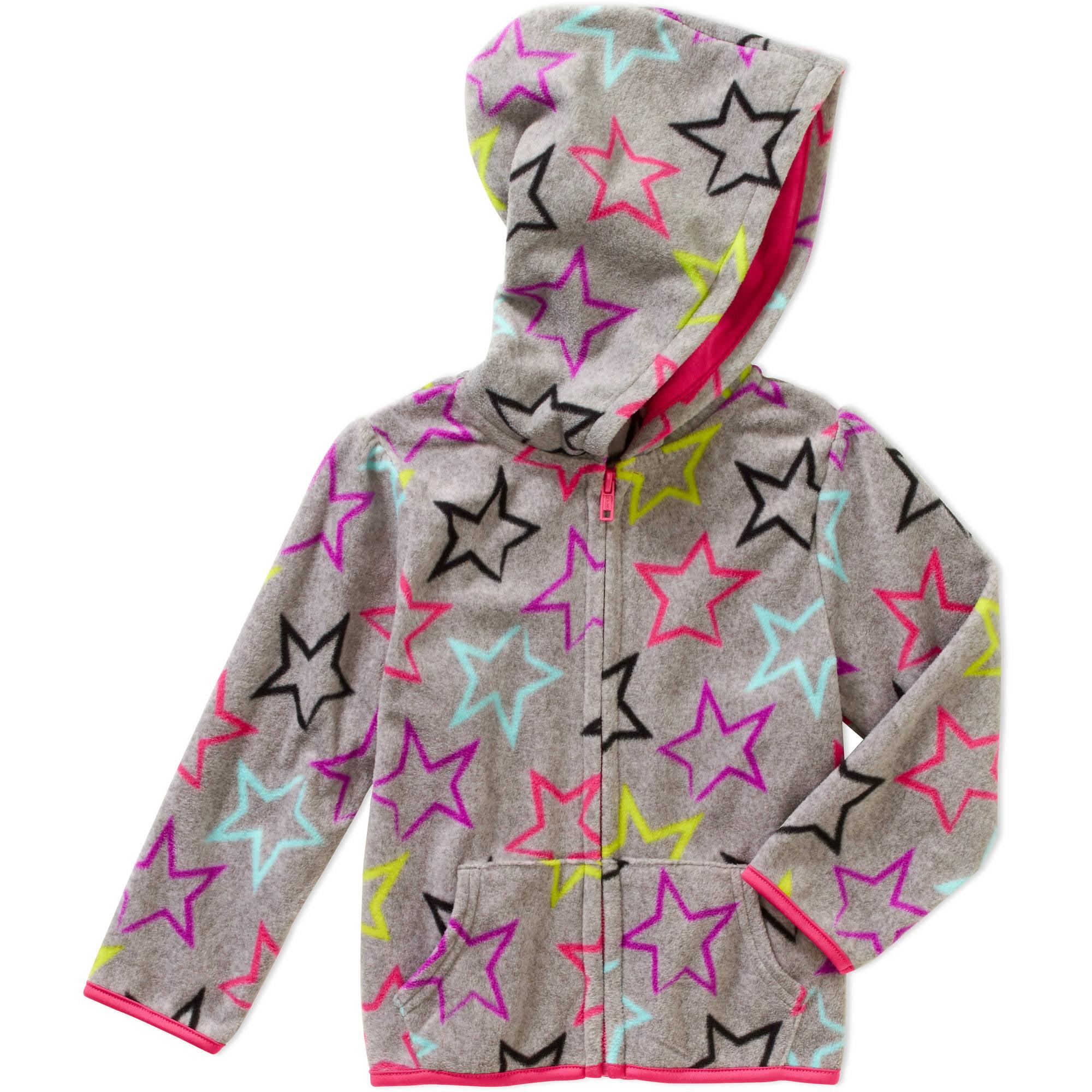 Garanimals Baby Toddler Girl Printed Fleece Hoodie Jacket